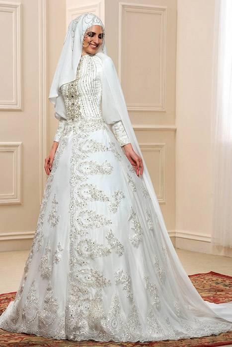Cтильные свадебные платья 2020 года