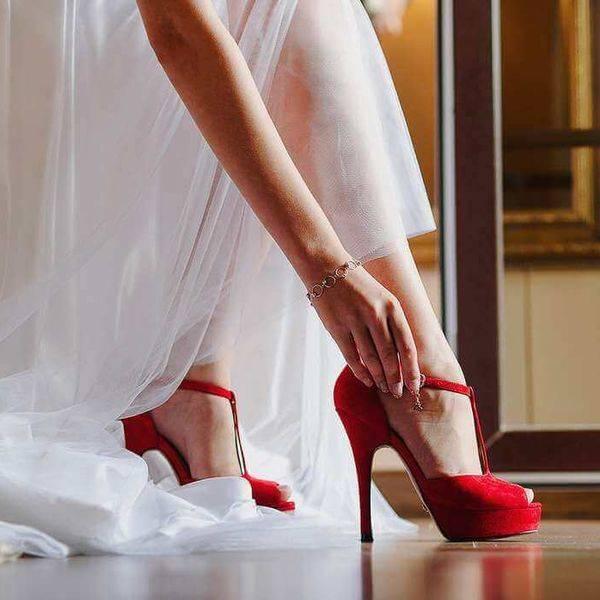Какую обувь одевать невесте на свадьбу
