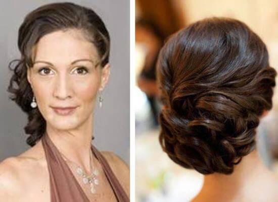 Прическа для мамы невесты или жениха (55 фото): укладки на свадьбу сына или дочери. как сделать свадебные образы на короткие или длинные волосы?