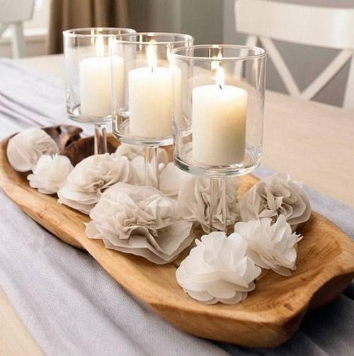 Свечи для семейного очага на свадьбу (18 фото): как украсить свадебные свечи для домашнего очага своими руками?