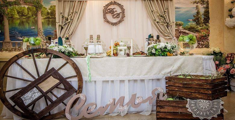 Свадьба в стиле рустик: интересные варианты оформления