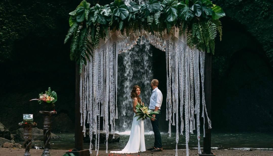 Как проходит символическая свадебная церемония на бали? | о бали.ру