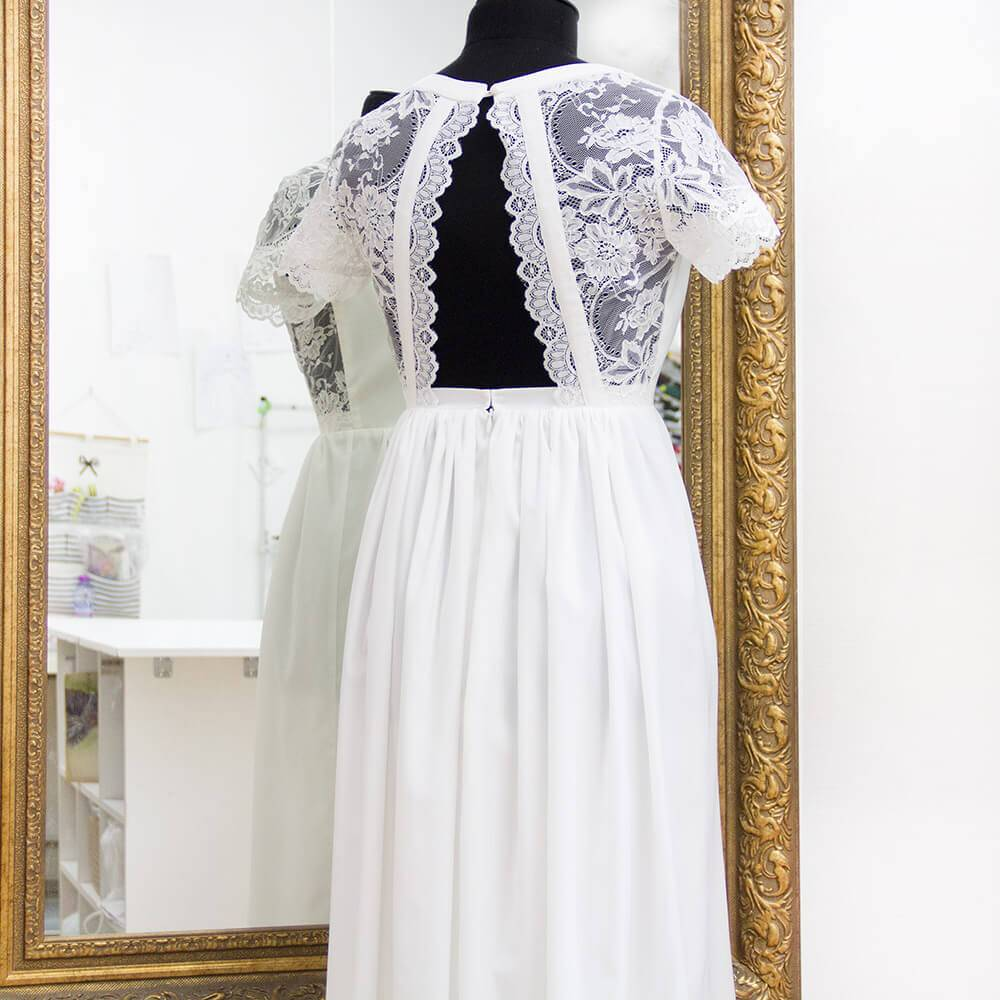 Химчистка свадебного платья: фото