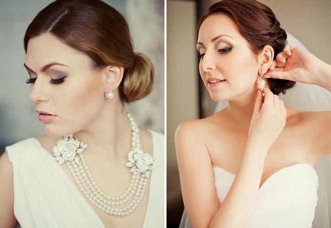 Свадебные серьги – как выбрать красивые серьги под свадебное платье?