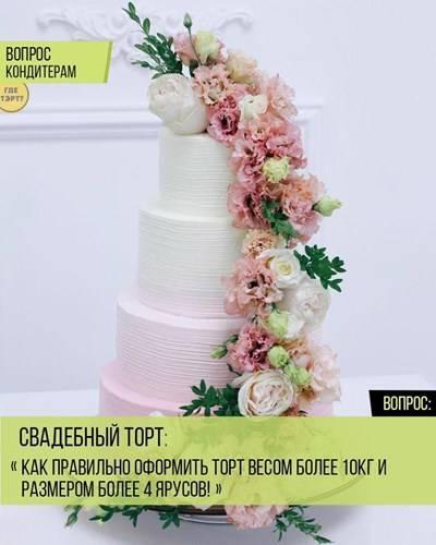 Свадебные торты 2016 какой выбрать тенденции новинки 73 фото