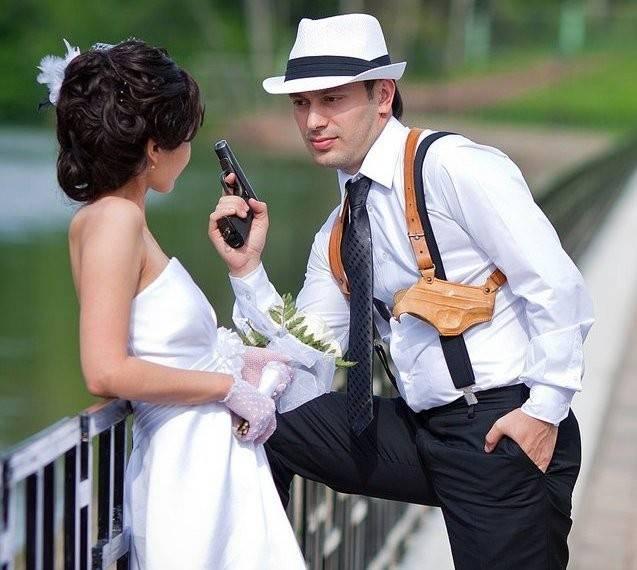 Выкуп невесты в стиле судебного заседания