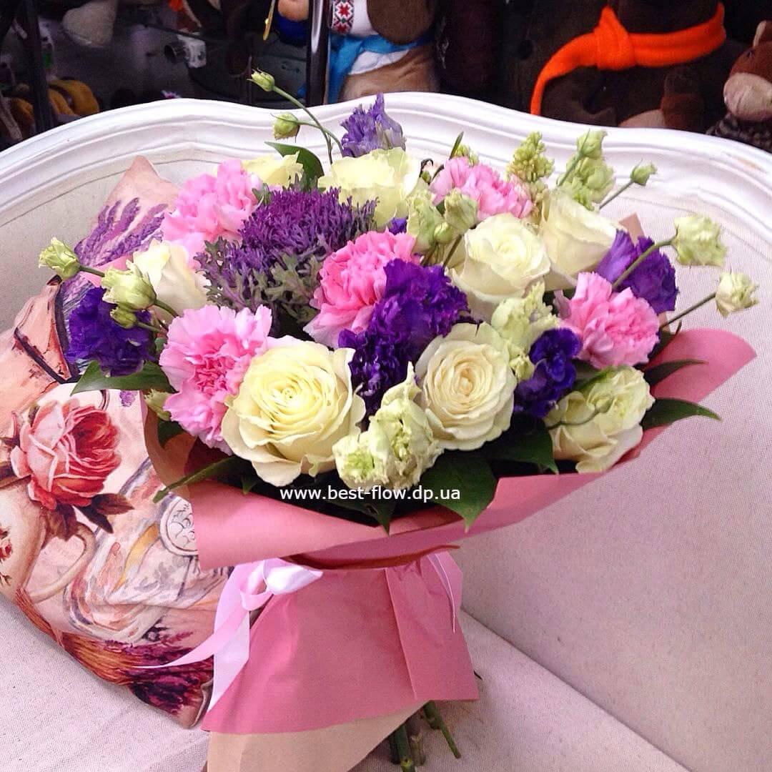 Букет невесты из орхидей