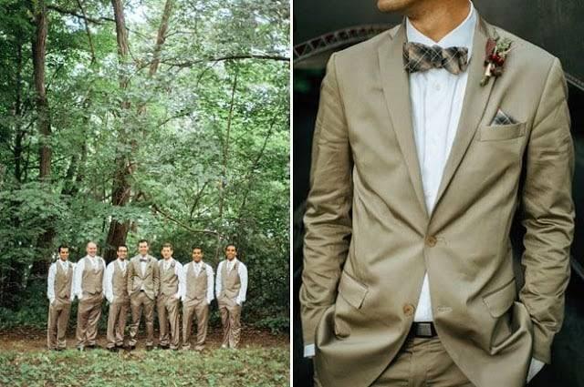 Мужские костюмы на свадьбу 2017