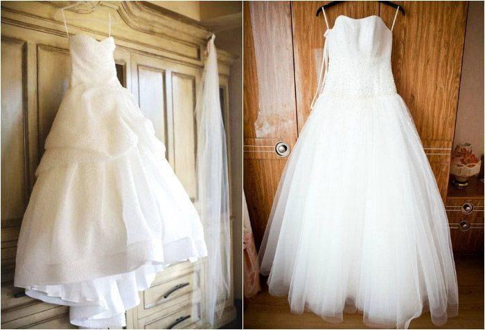 Как правильно отпарить свадебное платье при помощи утюга