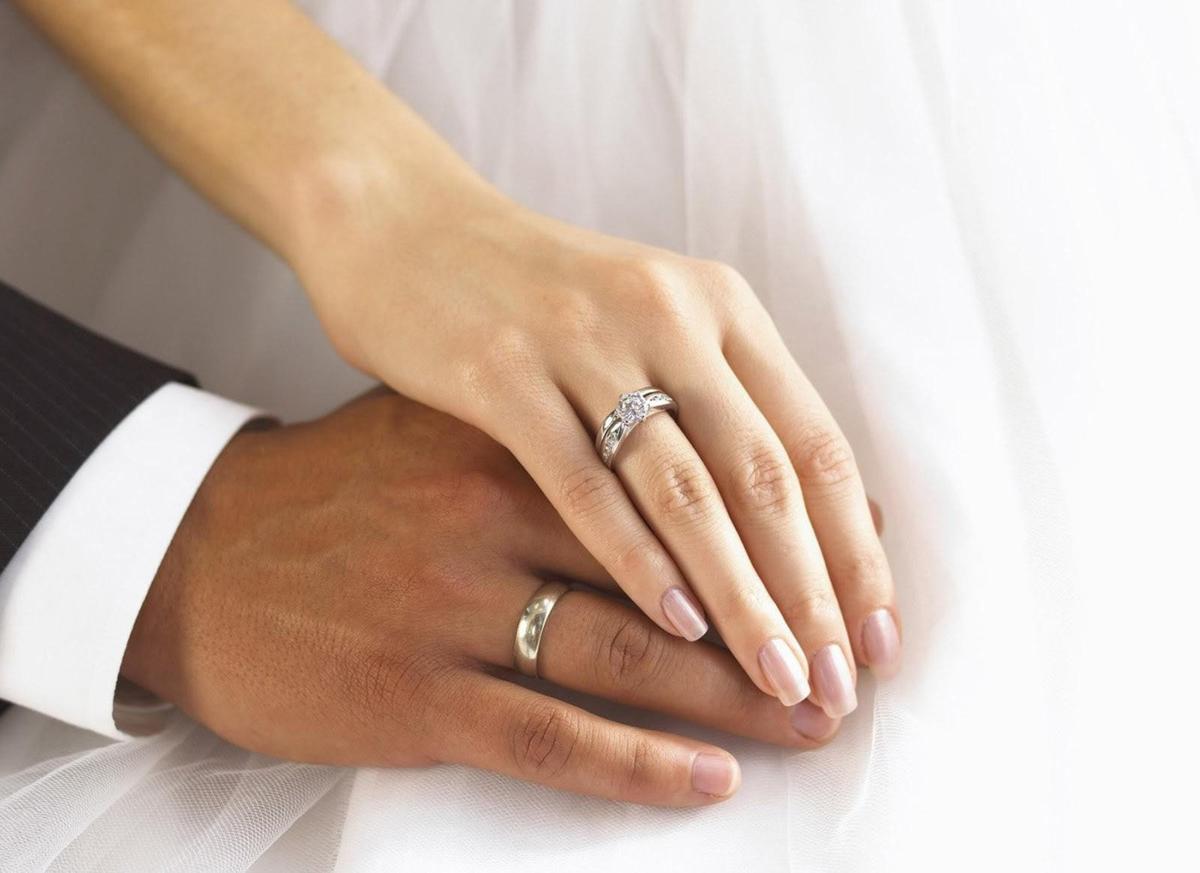 На какой руке мужчины носят обручальное кольцо в россии?