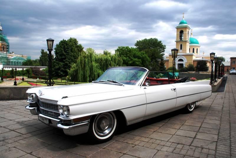 Ретро-автомобили на свадьбу