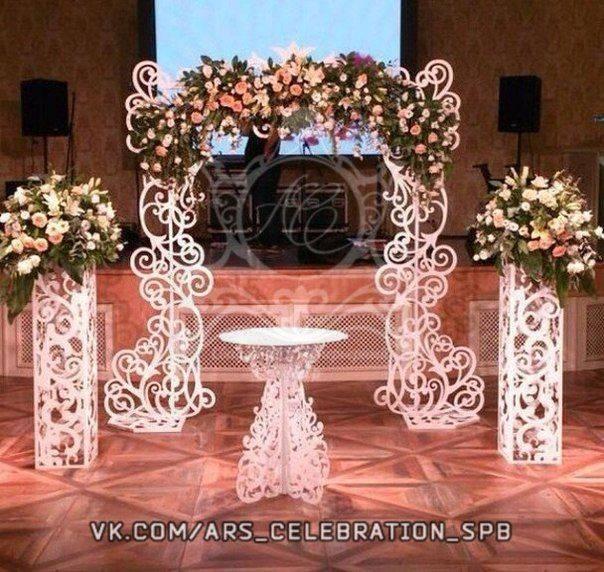 Лавандовая свадьба: арка + мастер-класс | страна мастеров