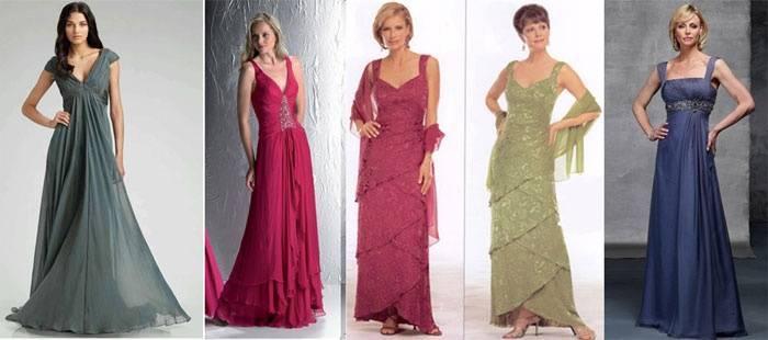 Платье на свадьбу для мамы невесты – идеи для модных образов