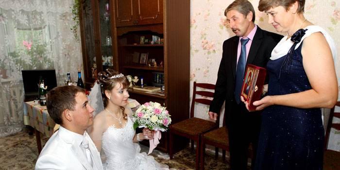 Ритуал благословения сына перед свадьбой: история, правила, детали и нюансы