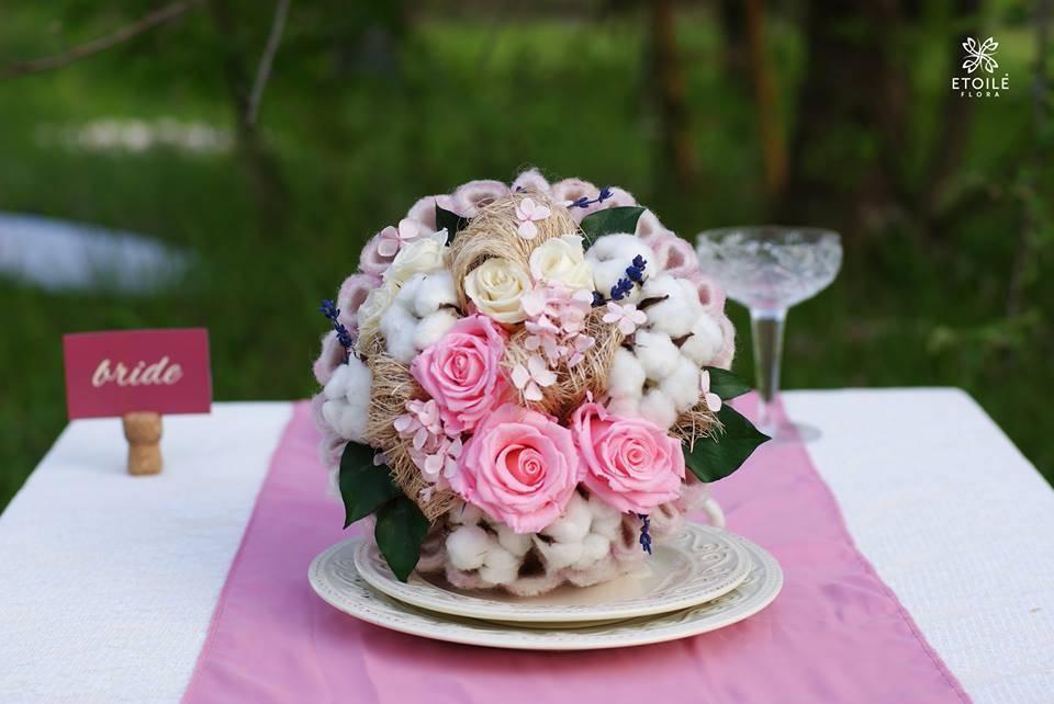 Свадебные бутоньерки (фото)