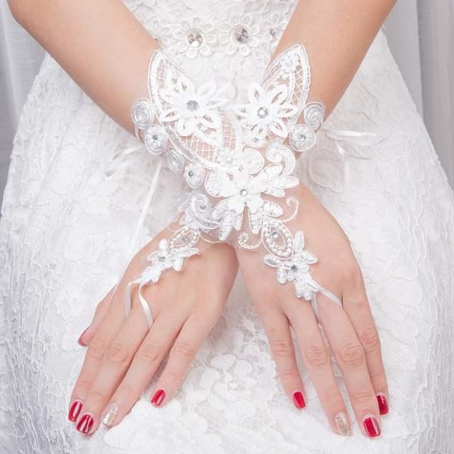 Свадебные перчатки: виды и модные фасоны (фото)