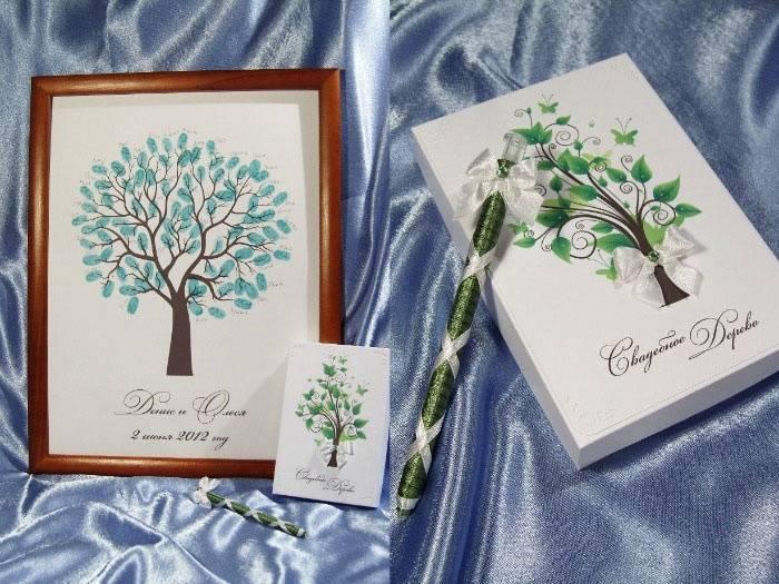 Как сделать дерево для пожеланий на свадьбу?
