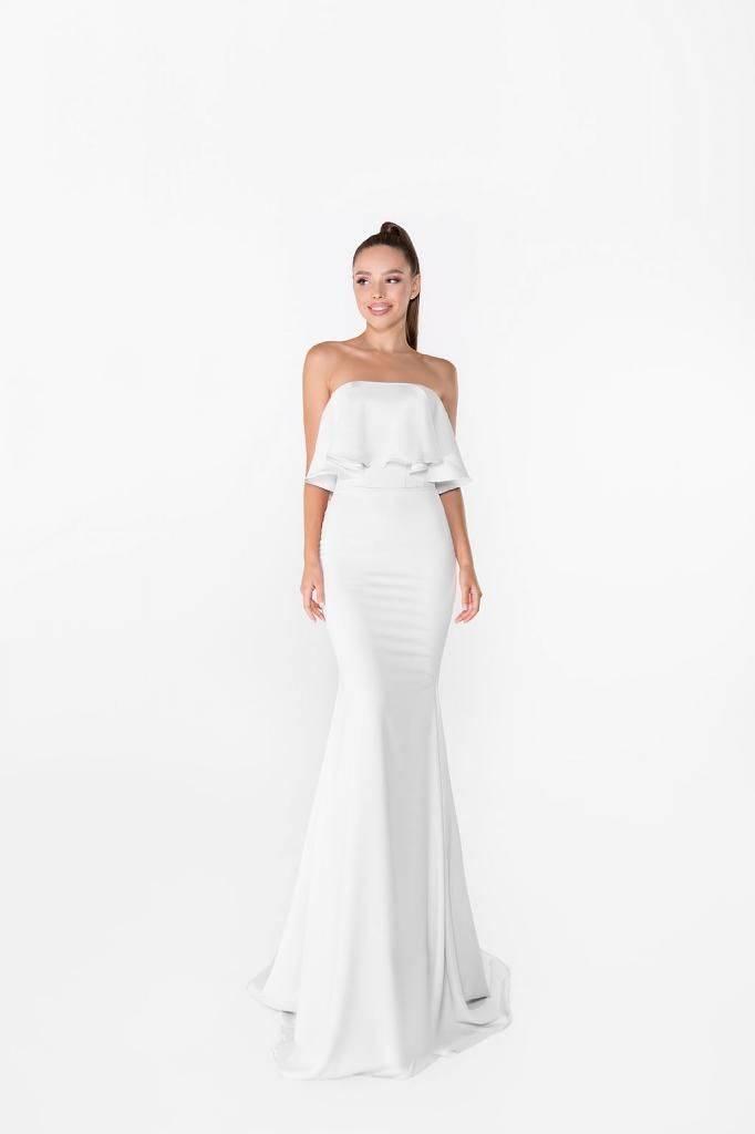 Короткие свадебные платья для беременных: особенности выбора для невест