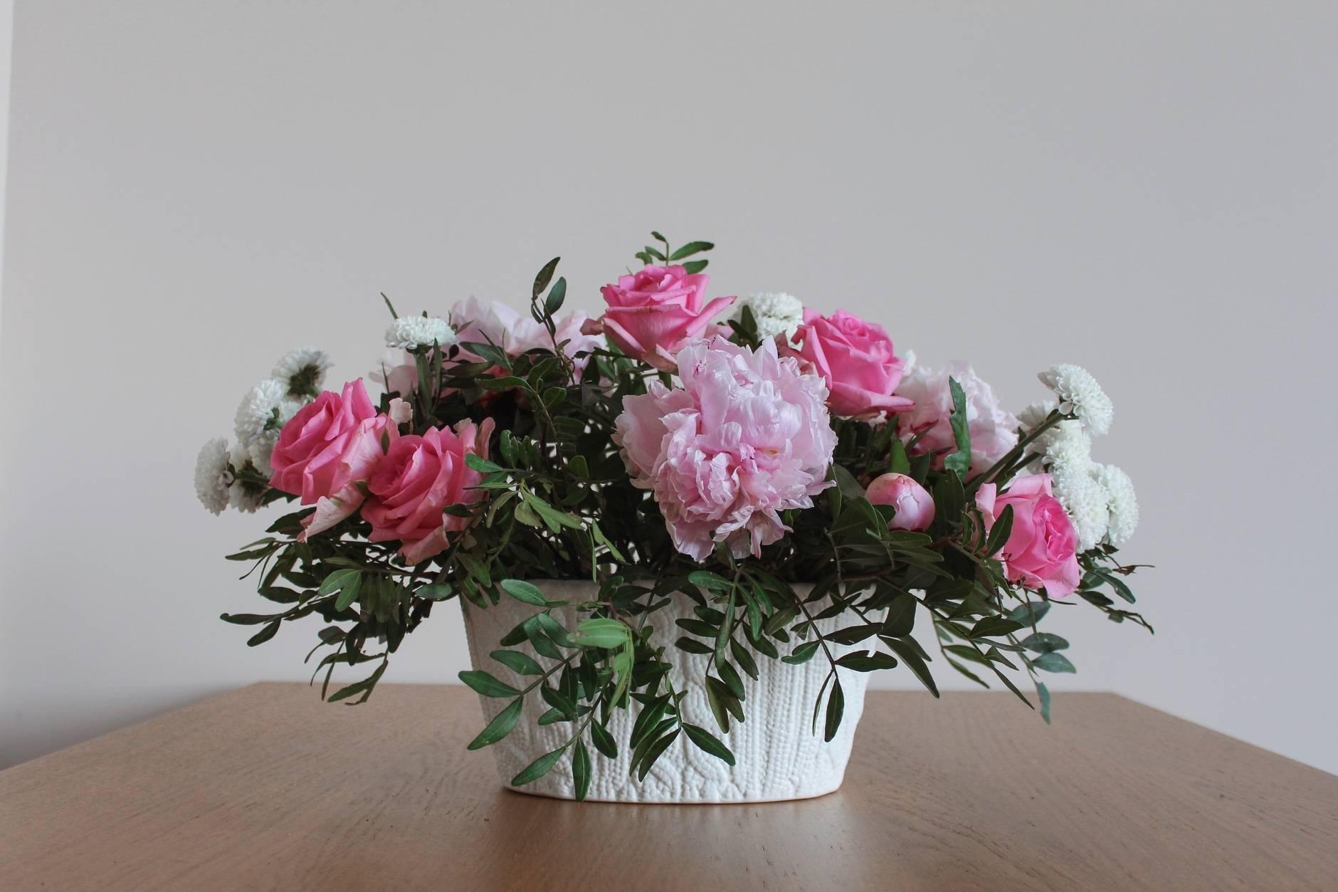 Самые модные букеты цветов и лучшие композиции из живых цветов 2020-2021 года — фото