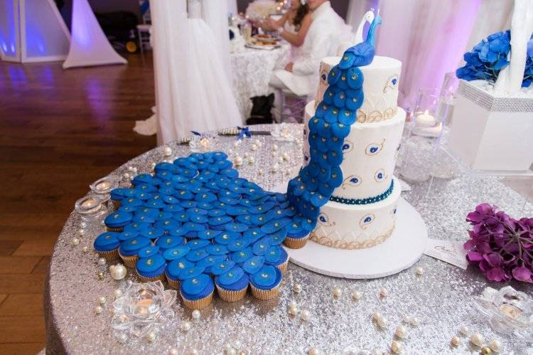 Свадьба в голубом цвете — классический формат проведения мероприятия + фото