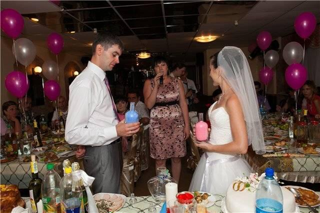 Проведение песочной церемонии на свадьбе