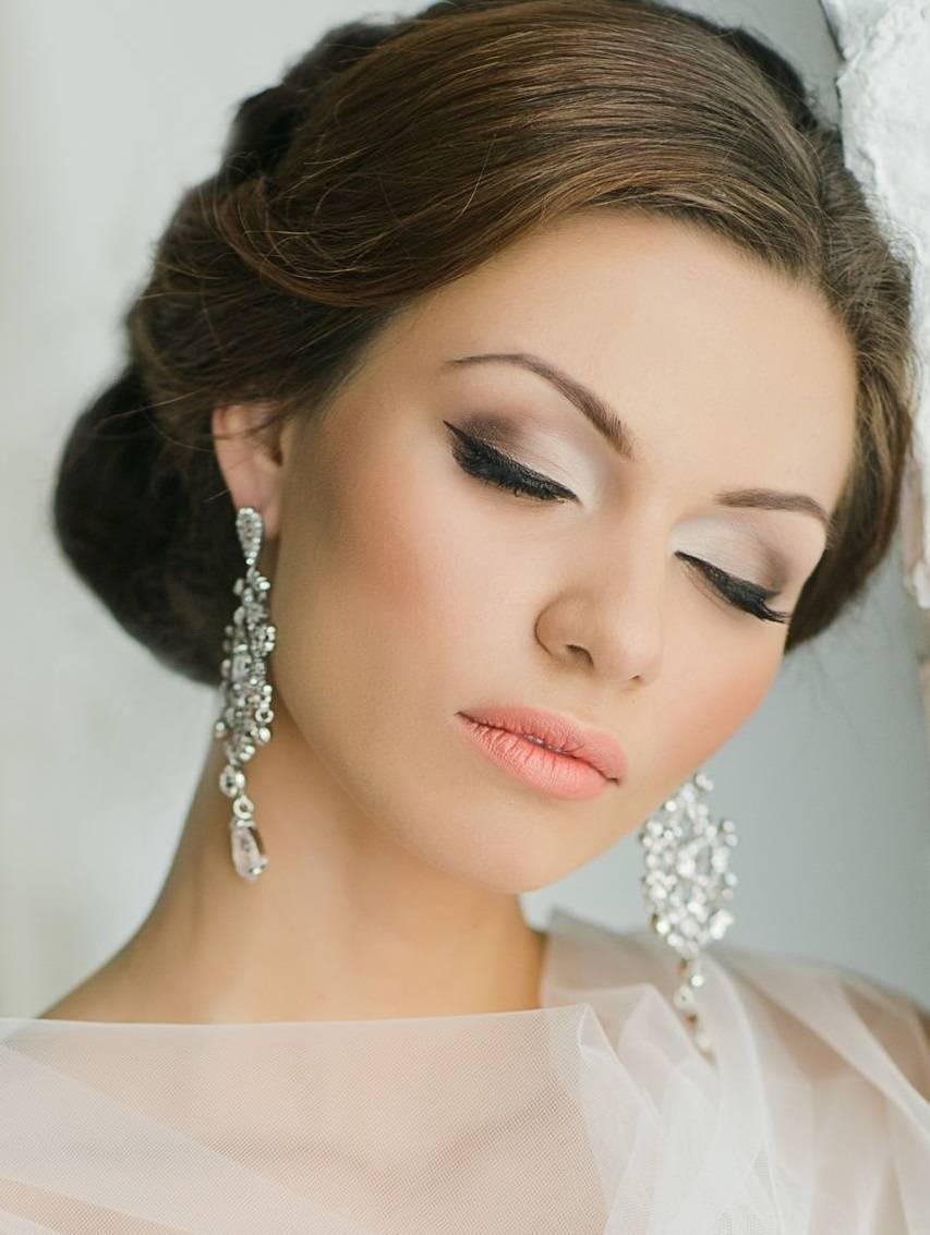 Свадебный макияж 2018 фото модные и красивые варианты