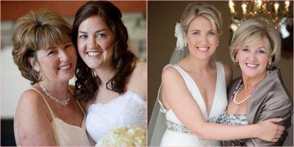 Выбираем прически для мамы невесты и жениха