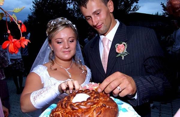 Каравай на свадьбу. рецепт