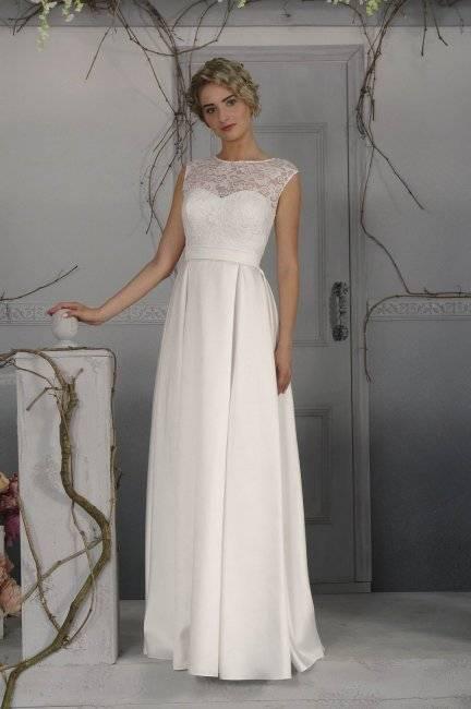 Как выбрать короткое свадебное платье?