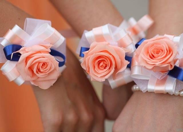 Как легко сделать браслет для подружек невесты