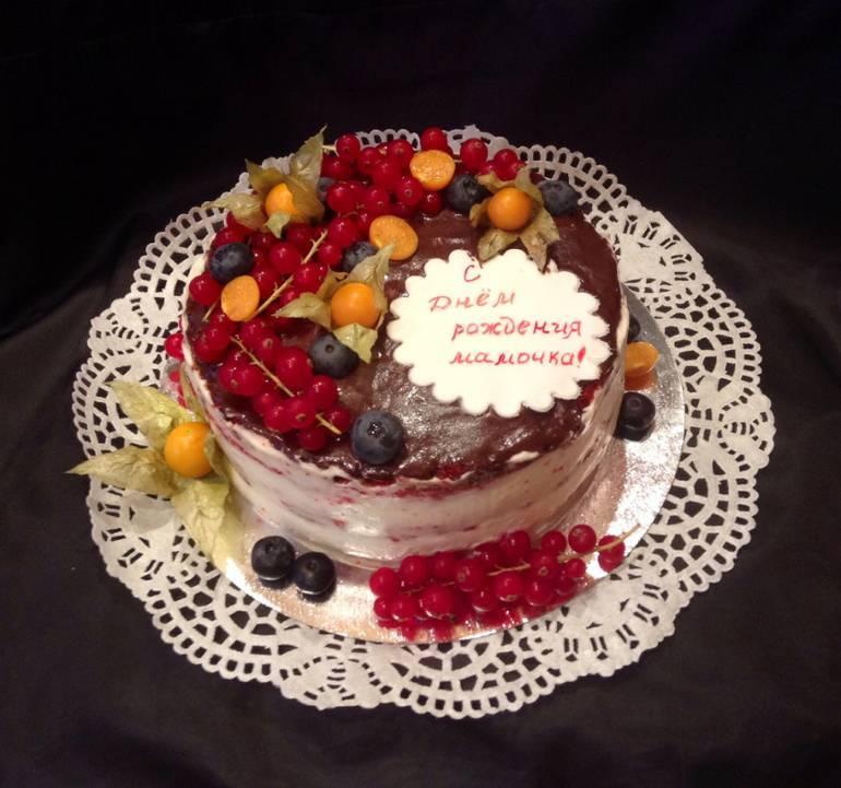 Рецепт крема для украшения торта, который хорошо держит форму (с фото )