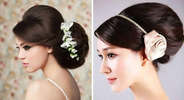 Прически для свадьбы на средние волосы
