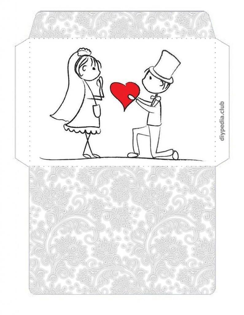 Оригинальные бумажные конверты, которые можно смастерить своими руками