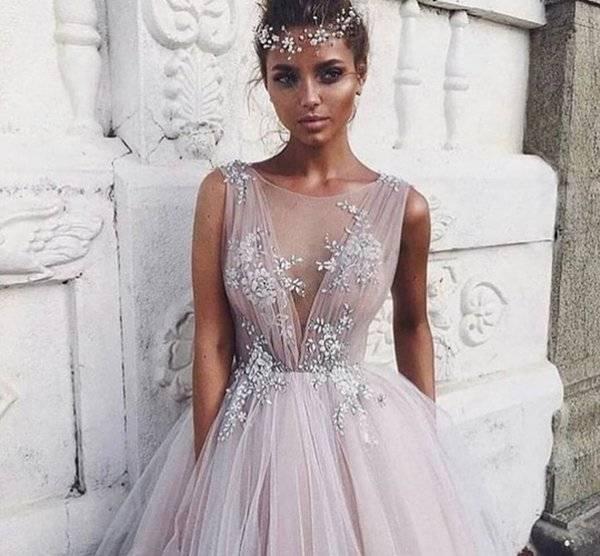 Шикарные свадебные платья: фото идеи современного образа невесты