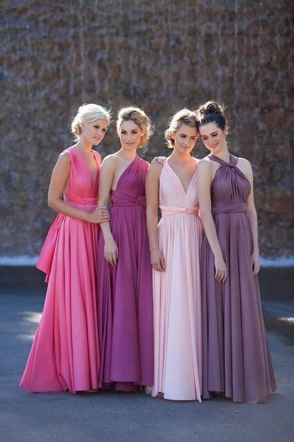Модные платья для подружек невесты 2020-2021 — тренды, идеи образов на фото