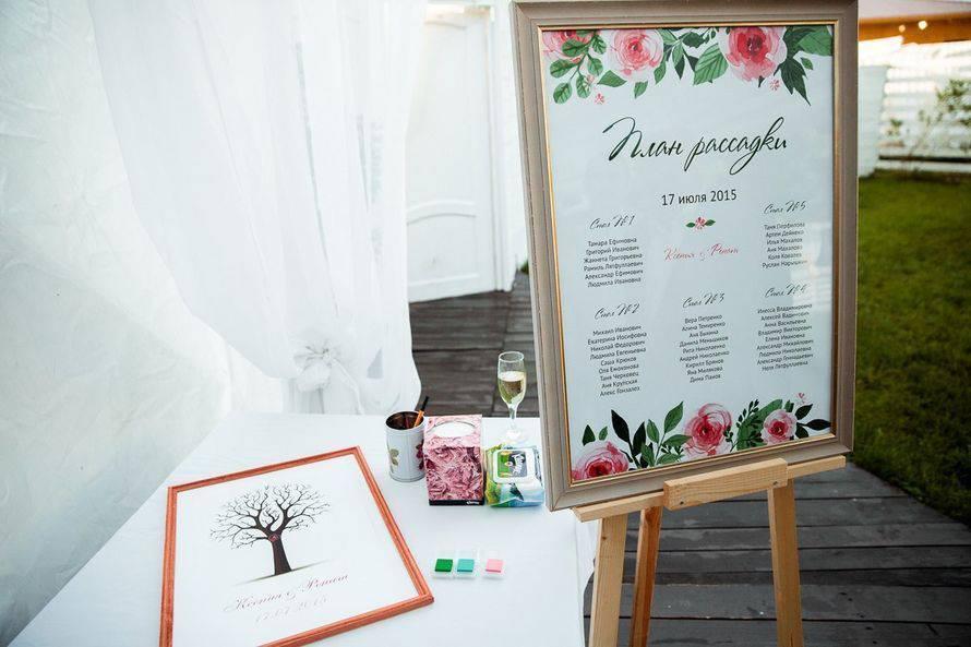 План рассадки гостей на свадьбе: советы и лучшие идеи