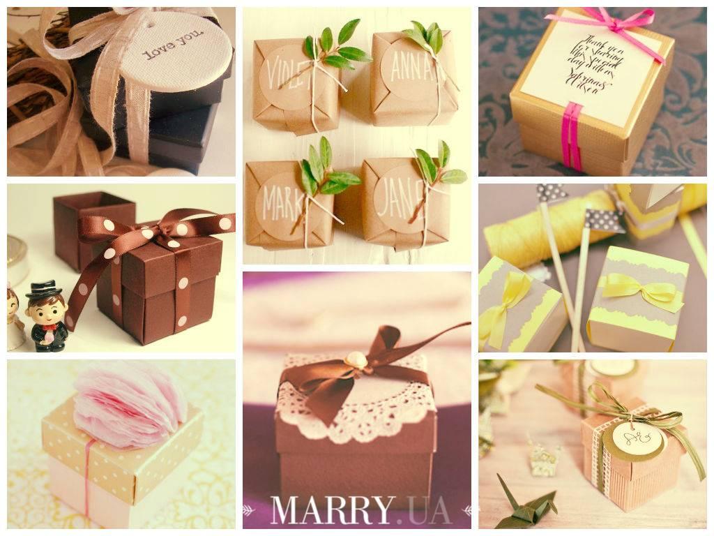 Бонбоньерки на свадьбу — идеи элегантного и небольшого подарка + фото