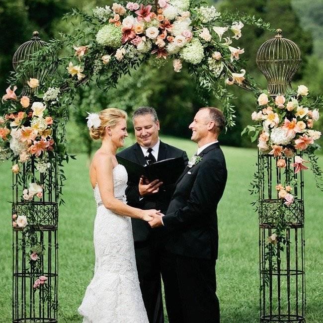 Альтернатива свадебной арке