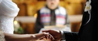 Сценарий для христианской свадьбы