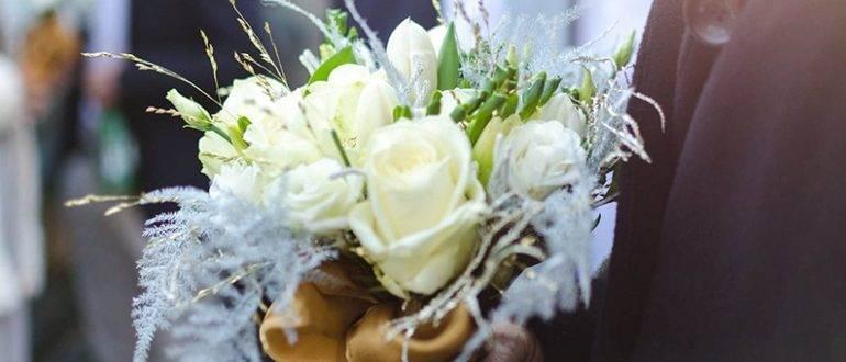 Букет-дублер на свадьбу
