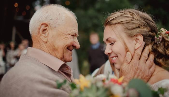 Поздравления со свадьбой от дедушки