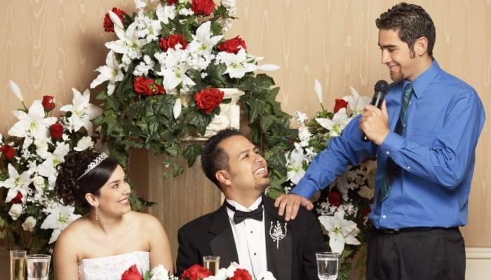 Поздравления от брата жениха