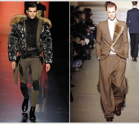 Модные мужские костюмы