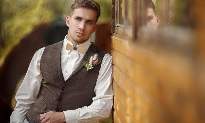 Модные мужские свадебные костюмы 2020 года: фото тенденции