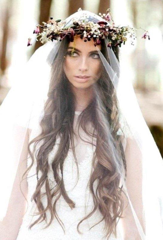 Модные свадебные прически с распущенными волосами: фото, видео, советы
