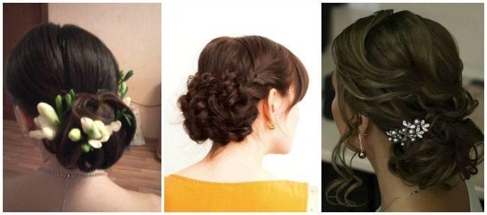 Варианты свадебной укладки волос для мам молодоженов