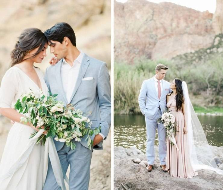 Как грамотно использовать мятный цвет при оформлении свадьбы: советы