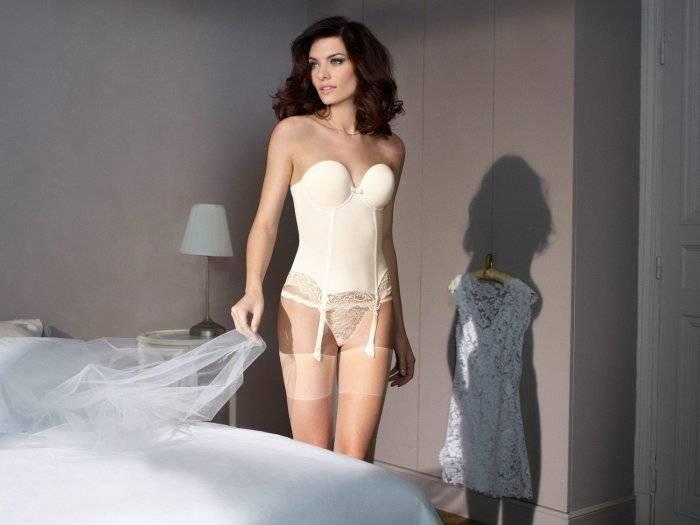Красивое и сексуальное нижнее белье для невест