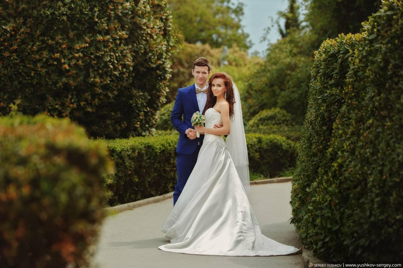 Лучшие площадки для проведения выездной свадебной церемонии в крыму