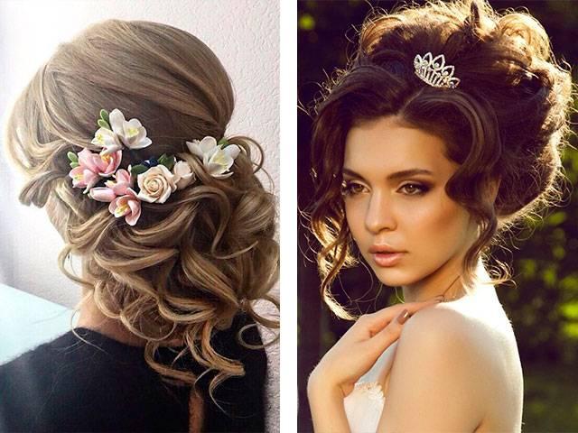Свадебная прическа невесты: прекрасные фото идеи